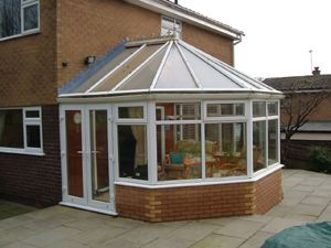 Conservatory built by A.D.C. House Styles Ltd.