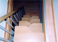 Loft Conversions Stairs completed by A.D.C. House Styles Ltd.